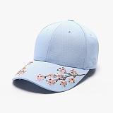 [피스메이커]PIECE MAKER - SAKURA SOUVENIR HARD CAP (SKY BLUE) 사쿠라 자수 볼캡