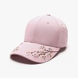 [피스메이커]PIECE MAKER - SAKURA SOUVENIR HARD CAP (PINK) 사쿠라 자수 볼캡