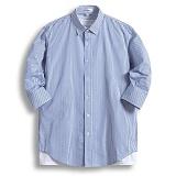 [젠블랙] zenblack - 2미리 스트라이프 7부셔츠 ZSH029