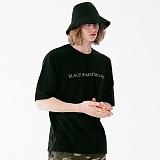 [매스노운]MASSNOUN 시그니쳐 드롭숄더 티셔츠 MUVTS001-BK 반팔티