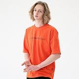 [매스노운]MASSNOUN 시그니쳐 드롭숄더 티셔츠 MUVTS001-OR 반팔티
