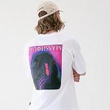 [매스노운]MASSNOUN 프리덤이즈낫프리 티셔츠 MUVTS002-WT 반팔티