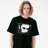 [매스노운]MASSNOUN 세덕티브 티셔츠 MUVTS003-BK 반팔티