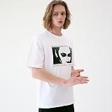 [매스노운]MASSNOUN 세덕티브 티셔츠 MUVTS003-WT 반팔티