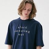 [매스노운]MASSNOUN 블랙아웃 오버핏 티셔츠 MUVTS004-DG 반팔티
