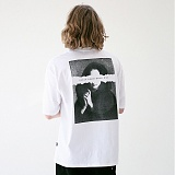 [매스노운]MASSNOUN 프레이어 오버핏 티셔츠 MUVTS005-WT 반팔티