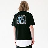 [매스노운]MASSNOUN 마녀사냥 티셔츠 MUVTS008-BK 반팔티