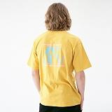 [매스노운]MASSNOUN 마녀사냥 티셔츠 MUVTS008-YL 반팔티