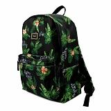 [로맨틱크라운]ROMANTIC CROWN Tropical Backpack_Black 백팩 데이백