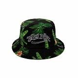 [로맨틱크라운]ROMANTIC CROWN Tropical Buckets Hat_Black 버킷햇 벙거지