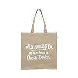 와일드브릭스 - WTPC BAG (beige) 토트 숄더백