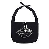 와일드브릭스 - TIE BAG (black) 타이백 크로스백