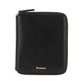 [페넥]Fennec Multi Zipper Wallet 001 Black 지퍼지갑