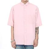 [쟈니웨스트] JHONNYWEST - CXL Summer Shirt (Shine Pink)  4월26일 예약발송 반팔셔츠 남방