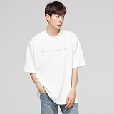 [모니즈] 쏘머치 반팔 티셔츠 (3color) TSB042