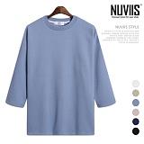 뉴비스 - 피케이 양면 오버핏 7부티셔츠 (RW104TS)