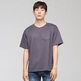 [모니즈] 분또 포켓 반팔 티셔츠 (3color) TSB059