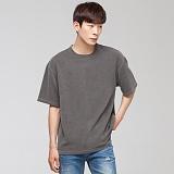 [모니즈] 피그먼트 반팔 티셔츠 (2color) TSB055