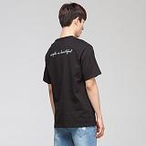 [모니즈] 심플 나염 반팔 티셔츠 (2color) TSB054