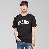 [모니즈] 아메리카 반팔 티셔츠 (2color) TSB051