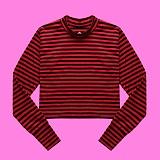 [superlative] 슈퍼레이티브 - [S] 손워머 티셔츠 - 긴팔 티셔츠 - RED