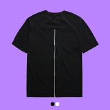[superlative] 슈퍼레이티브 - [S] 등지퍼 레이어드 반팔 티셔츠 - 반팔 티셔츠 - 2컬러