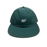 [허프] HUF SLANT 6 PANEL DARK GREEN 스냅백