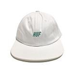 [허프] HUF SLANT 6 PANEL WHITE 스냅백