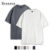 [1+1]브렌슨 - 소프트워싱 사이드 트임 드랍 티셔츠 7컬러