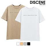 [DISCENE]디씬 디스트럭션 반팔 티셔츠 4컬러
