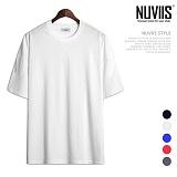뉴비스 - 라운드 컬러 반팔 티셔츠 (SP065TS)
