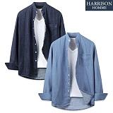 [해리슨] NJ 쓰나미 청셔츠 MET1474