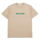 [센스스튜디오] SENSESTUDIO - PIECES OF LIFE TEE (BEIGE) 반팔 반팔티 티셔츠
