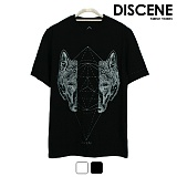 디씬 - 울프 - 16수 반팔 티셔츠 2COLOR