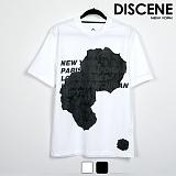 디씬 - 로즈 - 16수 반팔 티셔츠 2COLOR