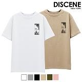 [DISCENE] 디씬 고잉 반팔 티셔츠 6컬러