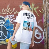 [FLUKE] 플루크 - 17 S/S War is Death art work 반팔티셔츠 FST017Z100_WH