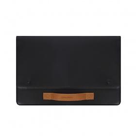 [퀄팩]QUALPACK R31L Rich Black 클러치 슬리브 노트북케이스