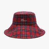 [피스메이커]PIECE MAKER - WIDE BUCKET HAT (RED CHECK) 버킷햇