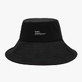 [예약발송 6월 30일][피스메이커]PIECE MAKER - WIDE BUCKET HAT (BLACK) 버킷햇