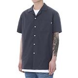[쟈니웨스트] JHONNYWEST - Workfit Half Shirts (W.Navy) 반팔셔츠 남방
