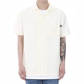 [쟈니웨스트] JHONNYWEST - Workfit Half Shirts (Cream) 반팔셔츠 남방