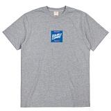 [더블콤보] DOUBLECOMBO - POOLSIDE SQUARE TEE (MELANGE) 반팔 반팔티 티셔츠