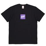 [더블콤보] DOUBLECOMBO - POOLSIDE SQUARE TEE (BLACK) 반팔 반팔티 티셔츠