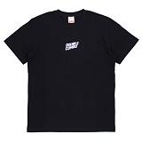 [더블콤보] DOUBLECOMBO - WAVE LOGO TEE (BLACK) 반팔 반팔티 티셔츠