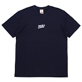 [더블콤보] DOUBLECOMBO - WIFI WAVE TEE (NAVY) 반팔 반팔티 티셔츠