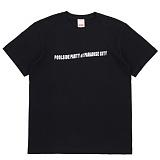 [더블콤보] DOUBLECOMBO - DON'T SLEEP TEE (BLACK) 반팔 반팔티 티셔츠