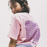 [네버에버]NEVEREVER - OUTTA CONTROL TEE (PINK) 반팔 반팔티 티셔츠