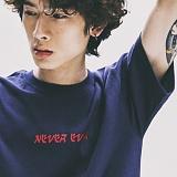 [네버에버]NEVEREVER - OISHI TEE (NAVY) 반팔 반팔티 티셔츠