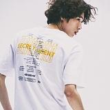 [네버에버]NEVEREVER - ENDING CREDIT TEE (WHITE) 반팔 반팔티 티셔츠